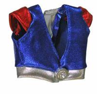 Cheerleader Clothing (Red & Blue) - Top