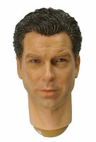 Wild Toys: MI6 Agent Paul - Head w/ Neck Joint (Brosnan)