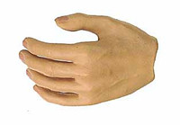Wild Toys: MI6 Agent Paul - Left Relaxed Hand