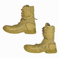 Christmas' Casual Clothing - Tan Lace Up Boots (For Feet)