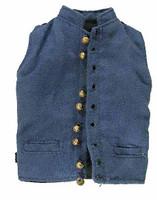 Major General George E Pickett - Vest (Real Working Metal Buttons)