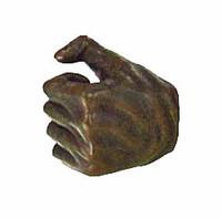 Frazetta: Death Dealer -  Left Gloved Tight Grip Hand