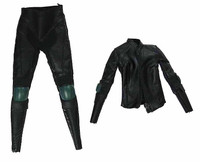 Heavy Armored Special Cop (Female) - Leather Uniform