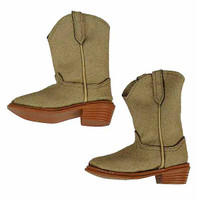 Lethal Weapon (Version B) - Soft Tan Leather Boots (For Feet)