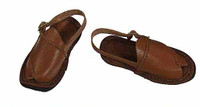 1980's Afghanistan Civilian Fighter: Asad - Leather Sandals