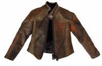 Gangster Kingdom: DIamond V Ralap - Brown Leather Jacket (Limit 1)