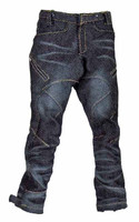 Gangster Kingdom: DIamond V Ralap - Dark Denim Washed Pants