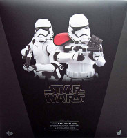 Star Wars: TFA: First Order Stormtrooper & Officer - Boxed Figure 2 Pack