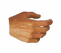 POP Toys: NYPD Policeman - Right Relaxed Hand