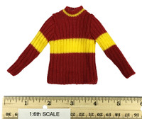 Harry Potter: Chamber of Secrets: Harry Potter & Draco Malfoy (Quidditch Version) - Gryffindor Knitted Sweater