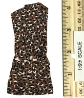Leopard Dress Set - Dress (Brown)