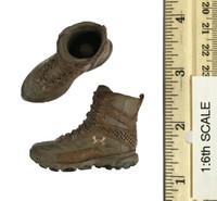 Wasteland Ranger - Under Armor Logo Boots w/ Ball Joints