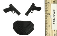 Dead Soldier -  Back Holster w/ Pistols (G17)