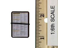 SR-71 Blackbird Flight Test Engineer - Checklist Leg Clipboard (Velcro)