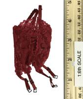 Lace Lingerie Set - Lingerie (Red)