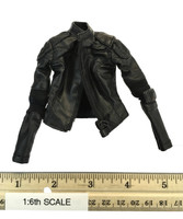 New Epoch Cop - Jacket (Black Leather) w/ Elbow Pads