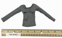 Leather Lingerie Sets - Shirt (Open Chest)