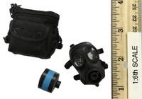 SDU Special Duties Unit Assault K9 - Gas Mask w/ Pouch (FM-12)