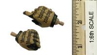US Navy Seal Team Six K9 Halo Jumper - Gloved Hands