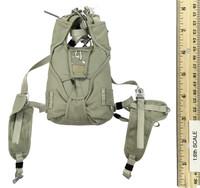 US Navy Seal Team Six K9 Halo Jumper - Parachute