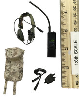 US Navy Seal Team Six K9 Halo Jumper - Radio w/ Pouch