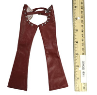 Sexy Cowgirl Clothing Sets - Chaps (Red)