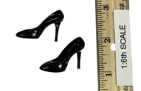 Sexy Cowgirl Clothing Sets - High Heels (Black)