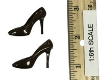 Sexy Cowgirl Clothing Sets - High Heels (Brown)