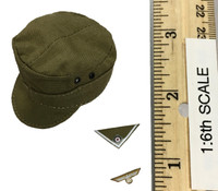 WWII Afrika Korps Wehrmacht Suit Set - Cap w/ Insignia