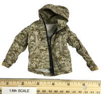 Digital Camouflage Women Soldier: Max - Jacket