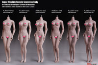 Super Flexible Female Seamless Body (PLLB2017-S21B) (Large Bust - Suntan - Fitness Physique) - Boxed Figure