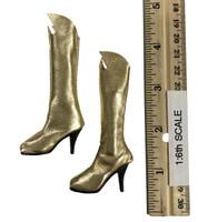 Batgirl Accessory Set - Boots (For Feet)