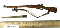 Soviet Red Army Infantry Equipment Set - Rifle (Mosin Nagant M91) w/ Spike Bayonet