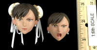 Street Fighter Chun Li - Head w/ Facial Inserts (No Neck Joint) (See Note)