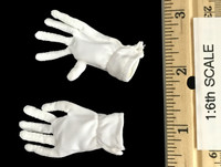 Napoleon Bonaparte: Emperor of the French - White Cloth Gloves