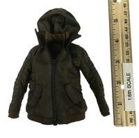 Dark Zone Agent: Tracy - Heavy Coat w/ Hood (Brown)