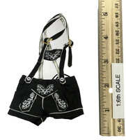 Oktober Girl Shorts Set - Lederhosen (Black)