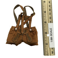 Oktober Girl Shorts Set - Lederhosen (Tan)