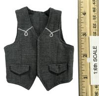 Cowboy Set - Grey Cowboy Vest