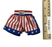 Mike Tyson: Olympic Edition - Trunks (Red White & Blue)