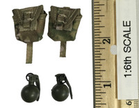 Seal Team Six - Grenades w/ Pouches