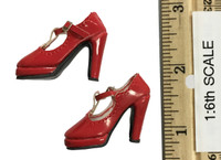 Mystery Girls Set: Velma - High Heeled Shoes (For Feet) (Red)