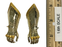 Gothic Armor (Gold) - Gauntlets (Gripping) (Metal)