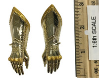Gothic Armor (Gold) - Gauntlets (Relaxed) (Metal)