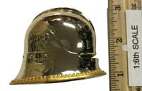 Gothic Armor (Gold) - Helmet (Sallet) (Metal)