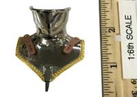 Gothic Armor (Silver) - Neck Armor (Bevor) (Metal)