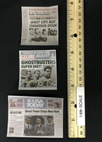 Ghostbusters: Egon Spengler - Newspapers