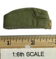 Sexy War Women Suit (Cloth Version) - Garrison Cap (Green)