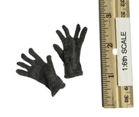 WWII German SS Officer Set - Grey Knit Gloves
