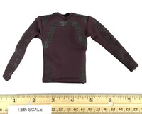 Guardians of the Galaxy Vol. 2: Star-Lord - Red Long Sleeved T-Shirt